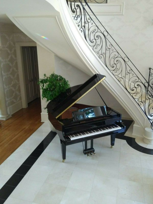Brand new Terrific sounding German design grand piano & Yamaha bench