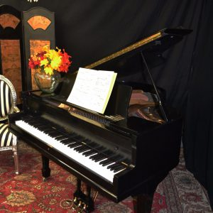 BABY GRAND PIANO BLACK FREE DELIVERY – NATIONWIDE
