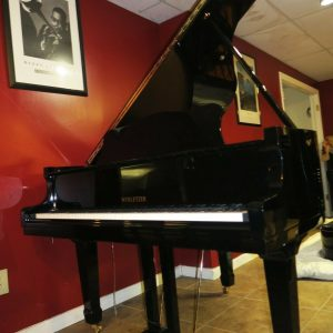 Brand new 2020 Black baby grand piano