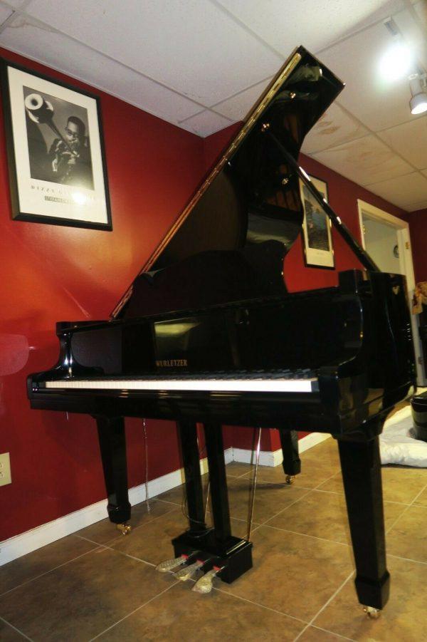 Brand new 2020 Black baby grand piano