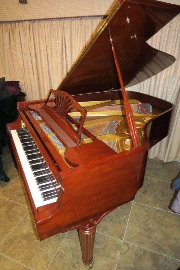 Exquisite Sohmer New York grand piano & Steinway felt key cover