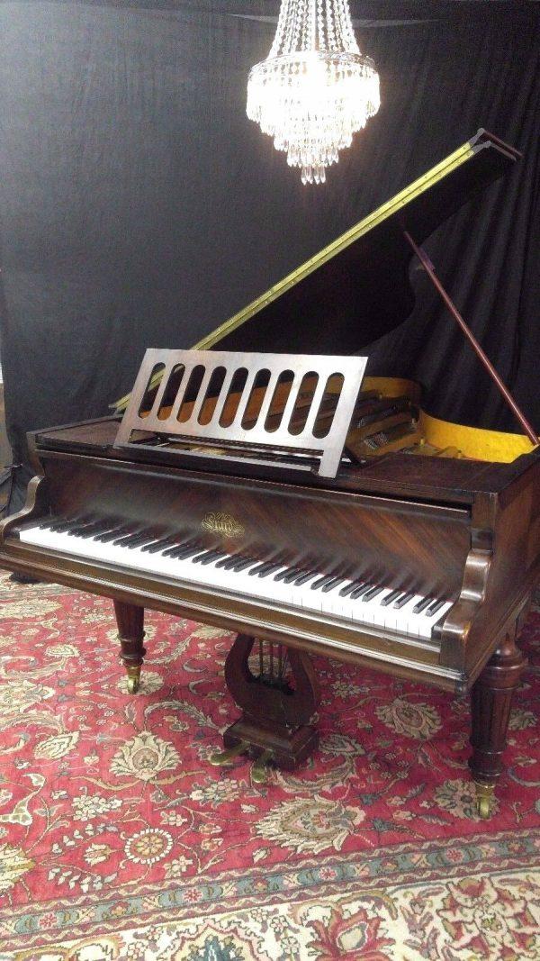 Rare and beautiful Erard grand piano ( free Yamaha key felt cover )