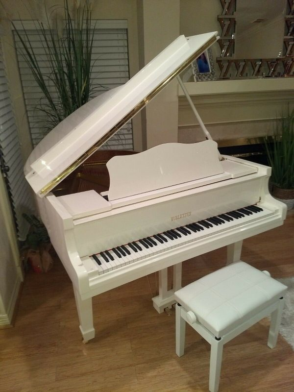 Brand new White 4'7 baby grand piano ( Wholesale )