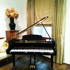 Brand new Black 4'7 baby grand piano