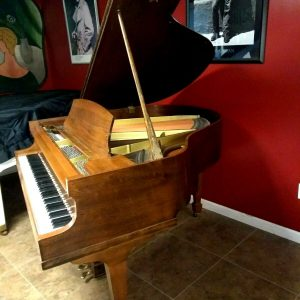Affordable Howard baldwin baby grand piano & Steinway stool