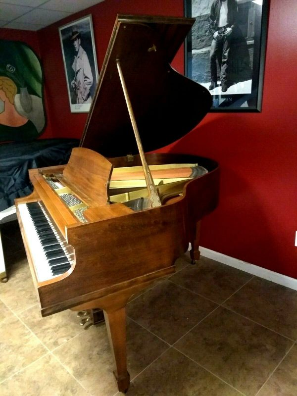 Affordable Howard baldwin baby grand piano & Steinway stool
