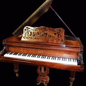 Beautiful made in France Pleyel grand piano (free Yamaha key felt cover)